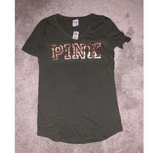 Army Green VS PINK Shirt